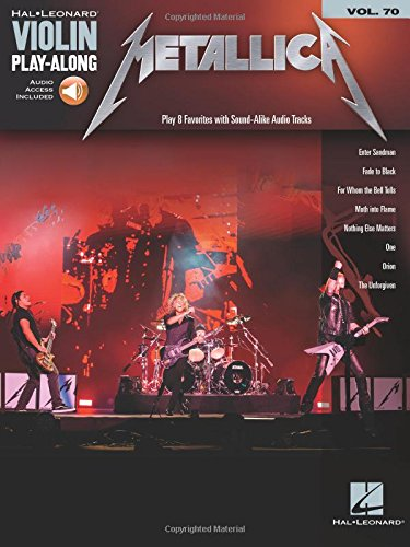 (Metallica: Violin Play-Along Volume 70 (Hal Leonard Violin Play-along))