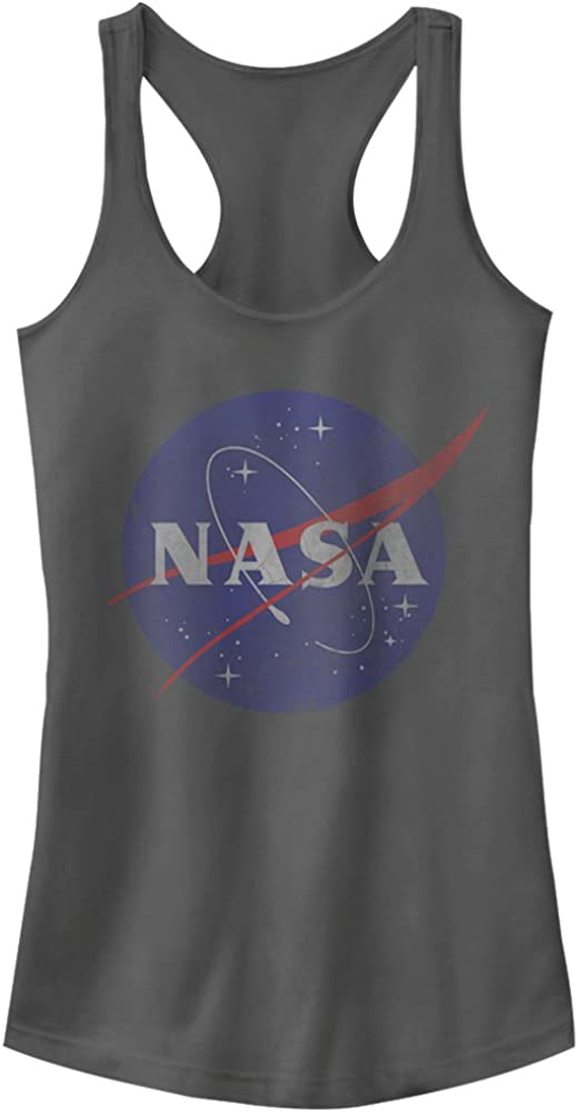 NASA Juniors Logo Racerback Tank Top