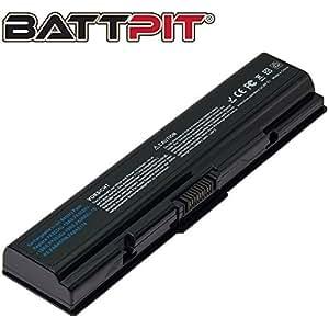 Battpit Bateria de repuesto para portátiles Toshiba Satellite L500 Series (4400 mah)
