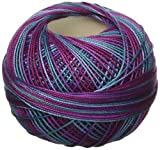 Handy Hands HH10637 Lizbeth Premium Cotton Thread, Medium, Country Grape