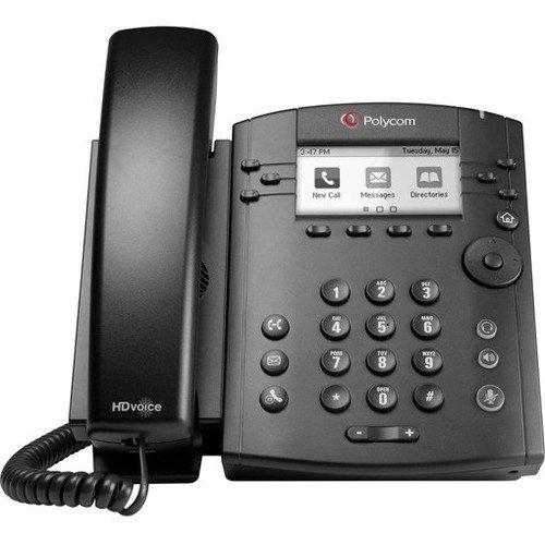 hone - Cable - Desktop - 6 x Total Line - VoIP - Speakerphone - 2 x Network (RJ-45) - PoE Ports - LDAP, SIP, DHCP, SNTP, LLDP-MED, RTCP, RTP, TCP, UDP, SRTP Protocol(s) ()
