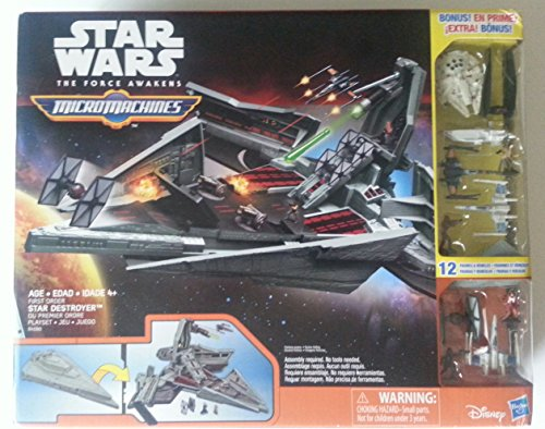 AWAKENS MICROMACHINES DESTROYER PLAYSET VEHICLES product image