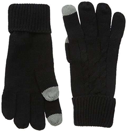 bench-womens-rivelin-b-cable-knit-gloves-jet-black-1-size