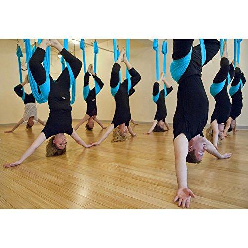 New Large Bearing Yoga Swing Sling Hammock Trapeze For Joyful Yoga Inversion Tool, (Inspiration Sisal Rug)