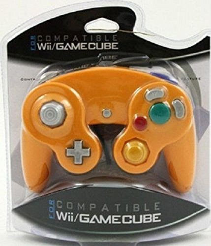 video-game-accessories-orange-spice-controller-for-nintendo-gamecube-wii-new-retail-