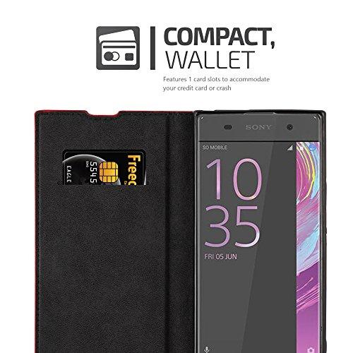 Cadorabo - Funda Book Style Cuero Sintético en Diseño Libro para >                                          Sony Xperia XA1                                          <