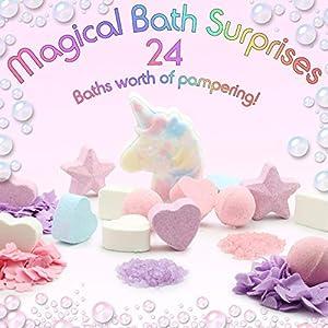 KreativeKraft Unicorn Bath Bom...
