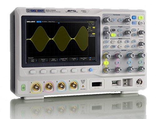 - SIGLENT SDS2304X Super Phosphor Oscilloscope 4-channel 300 MHz Digital Desktop SPO
