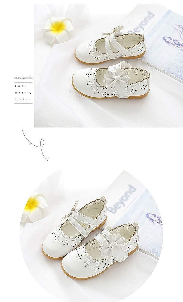 2ad81b965ccbf CCZZ Bebe Fille Flat Princess Chaussures Enfants Semelles Souples Mary Jane  Ballerine Floral D é cor Casual ...