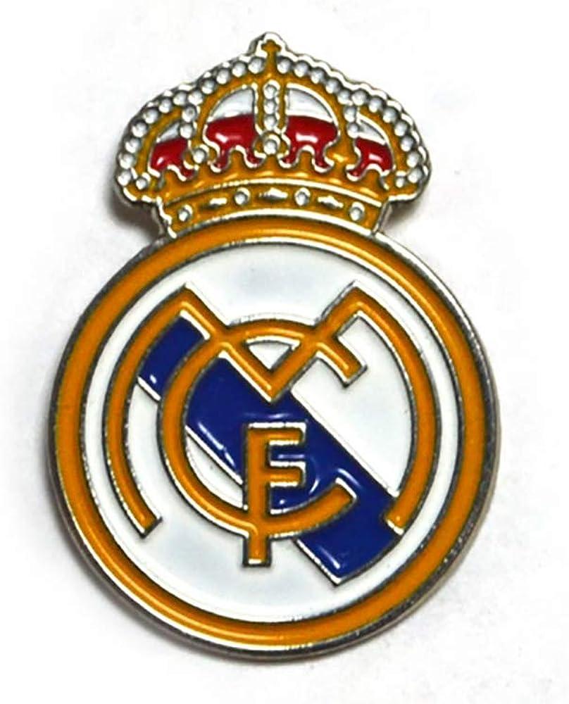 Insignia oficial del REAL MADRID pin forma cresta