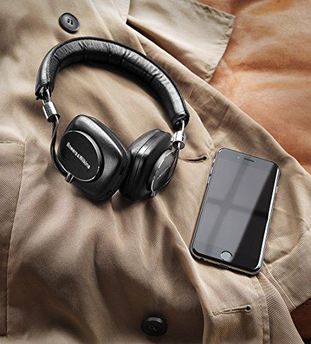 P5 Wireless Bluetooth Headphones by Bowers & Wilkins, Portable HiFi, Black
