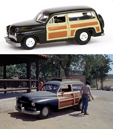 1940's Woody Wagon Surf Set - Johnny Lightning Mod Squad TV Series