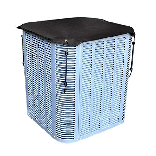 PJDH Air Conditioner Cover for Outside Units, Central Air Conditioner Cover All Season, AC Defender - Durable and Water Resistant Fabric 28