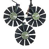 3 Pcs/lot T129215SU Cooling Fan for Video Card ASUS Strix GTX980Ti/R9 390X/R9 390
