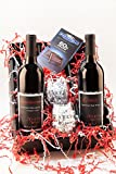 Ravishing Reds Wine and Chocolate Gift Set, 2 x 750 mL