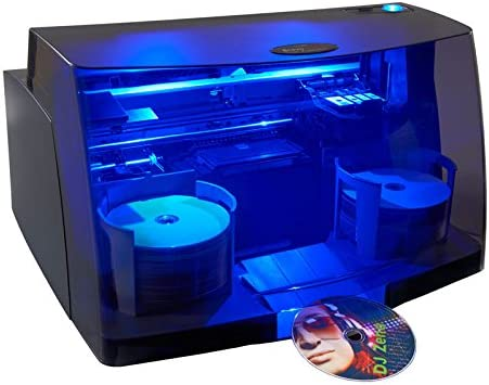 Primera Bravo 4201 Disc Duplicator and Printer Automatically Copy and Print CDs and DVDs New Model.