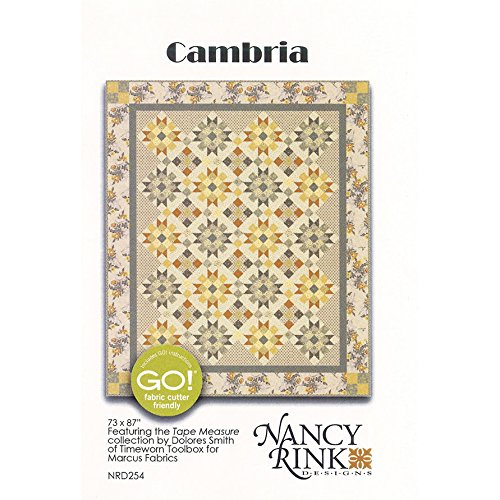 Nancy Rink Designs NRD254 Cambria Pattern