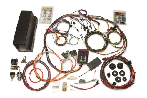 Painless Wire 10113 Wiring Harness/Switch with Bronco Logo