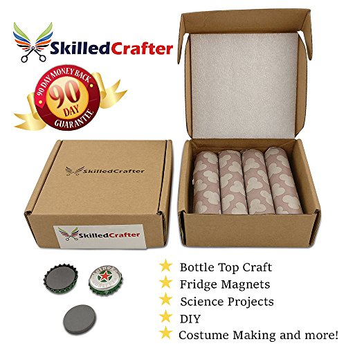 Skilled Crafter Strong Craft Magnets 1 Inch 25mm 4mm