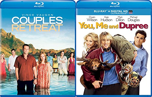You  Me  And Dupree   Couples Retreat 2 Pack Comedy Movie Night Double Feature