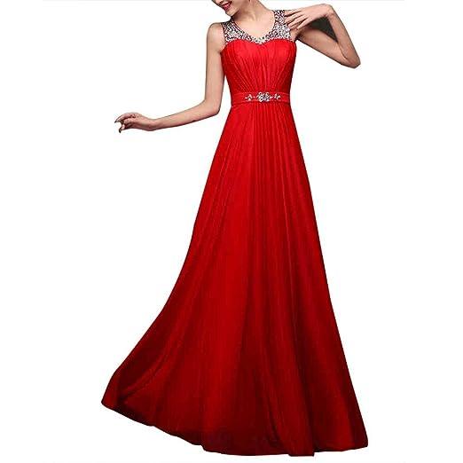881d3fad TrentDresses Women's A-line Chiffon Sequins Wedding Dress at Amazon ...