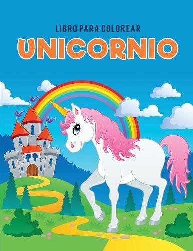 Libro para colorear unicornio (Spanish Edition)