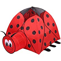 OUTAD Foldable Tunnel Pool Children Kids Beetle Tent