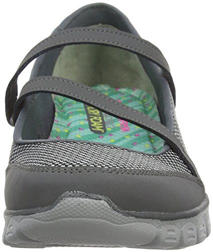 Flex Skechers Halbschuhe 3 Damen Ccl Ez Mary 0 Stopover Grey Jane xwwpRq
