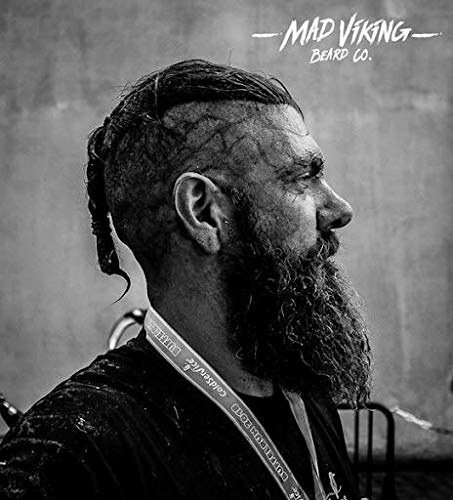 Mad Viking Beard Co The Orchard 2 Ounce Beard Balm, Medium to Heavy Hold, All Natural and Organic Ingredients, Paraben and Cruelty-Free, Maintain and Manage Beard Hair, Best Gift for Him and Husband