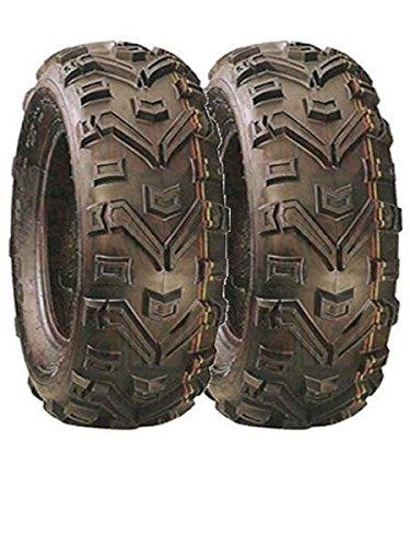 Paire de pneus Quad Duro Buffalo 25 x 8 x 12 type E Route Legal 6 plis Quadmaxx