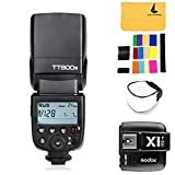 Godox NEW TT600S GN60 2.4G Camera Flashgun Speedlite for Sony MI Hot Shoe Camera +X1T-S I-TTL 2.4G Wireless Flash Trigger Transmitter for Sony DSLR Cameras with MI Shoe (X1T-S)