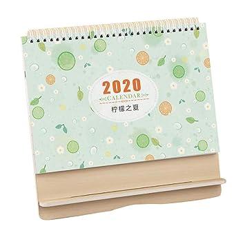Calendario de escritorio 2019-2020, horario de oficina, pequeño ...