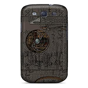 Fashion Tpu Case For Galaxy S3- Post Tech Punk Defender Case Cover by lolosakes