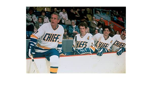 c6d79307e46 Amazon.com  Slap Shot Paul Newman in ice hockey outfit 16x20 Poster  Entertainment  Collectibles