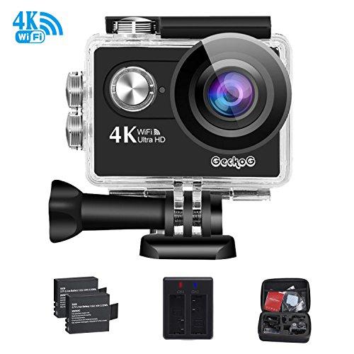 4K WiFi Sports Action Camera GeckoG Ultra HD Waterproof DV C