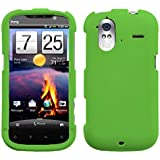 Asmyna HTCAMAZE4GHPCSO350NP Premium Durable Rubberized Protective Case for HTC Amaze 4G - 1 Pack - Retail Packaging - Dr.Green