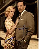 JON HAMM & JANUARY JONES signed autographed DON & BETTY DRAPER MAD MEN photo
