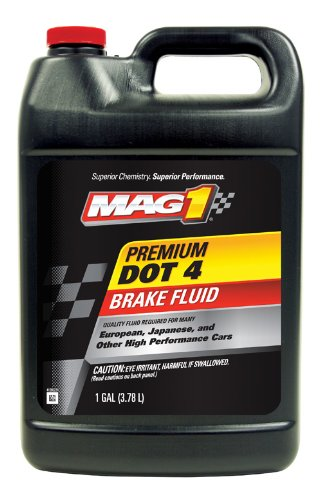 Mag 1 62205 DOT 4 Premium Brake Fluid - 1 Gallon, (Pack of 6) by Mag 1