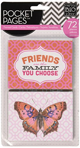 me & my BIG ideas Pocket Pages Journaling Cards, Friends (Best Friend Card Ideas)