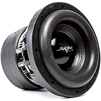 Amazon com Skar Audio ZVX 8 D4 Dual 4 SPL Subwoofer
