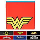 Everything Mary Wonder Woman Collapsible Storage Bin by DC Comics - Cube Organizer for Closet, Kids Bedroom Box, Playroom Chest - Foldable Home Decor Basket Container with Strong Handles and Design