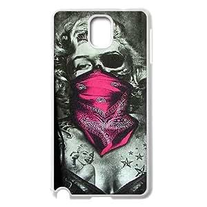 DIY Samsung Galaxy Note 3 N9000 Case, Zyoux Custom New Design Samsung Galaxy Note 3 N9000 Plastic Case - zombie marilyn monroe