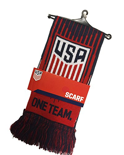 ICON Official USA Soccer Scarf, One Team One Nation U.S. Soccer Scarf