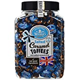 Walker's Nonsuch Salted Caramel Toffees - 1.25 KG - in a Reusable Container with Lid