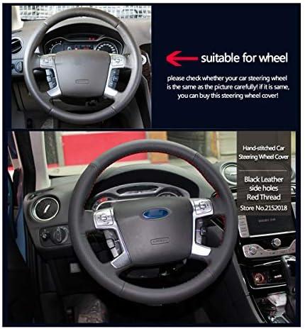 Shining Wheat Lenkradhülle Aus Glänzendem Weizenleder Für Ford Mondeo Mk4 2007 2012 S Max 2008 Auto