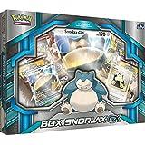 Jogo de Cartas Pokémon Box Snorlax Copag