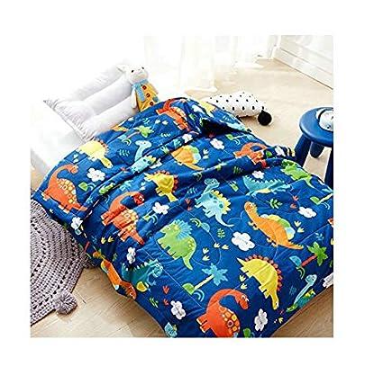 Amazon.com: KFZ niños colcha de colcha de algodón para cama ...