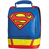 Superman Dual Compartment with Cape Lunch Kit