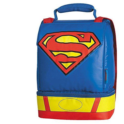 Superman Dual Compartment Cape Lunch