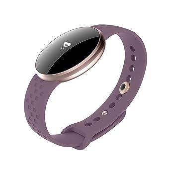 Montre Connectée Étanche IP67, Bracelet Connectée Natation Écran Bluetooth Fitness Tracker dActivité Cardiofréquencemètre Smartwatch Podomètre Sport Smart ...